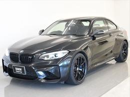 BMW M2クーペ エディション ブラック シャドウ M DCT ドライブロジック 限定車後期黒革シートヒータMパフォ19AW