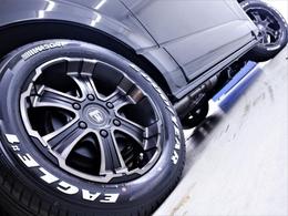 17inchFLEXオリジナルカラー【バルベロディープス】アルミホイール&17inchグッドイヤーナスカータイヤ!