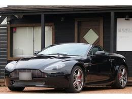 アストンマーティン V8ヴァンテージロードスター 4.7 N400限定車 皮 左H ナビ 記録簿