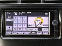 ☆純正ナビ☆ フルセグTV・SD・CD/DVD再生・AM/FMラジオ・Bluetooth