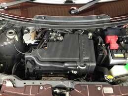 エンジンルームもとても綺麗で、整備も行き届いていますので、安心してお乗りすることができます。