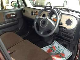とても座り心地のいい座席なので、長時間の運転でも疲れにくい!