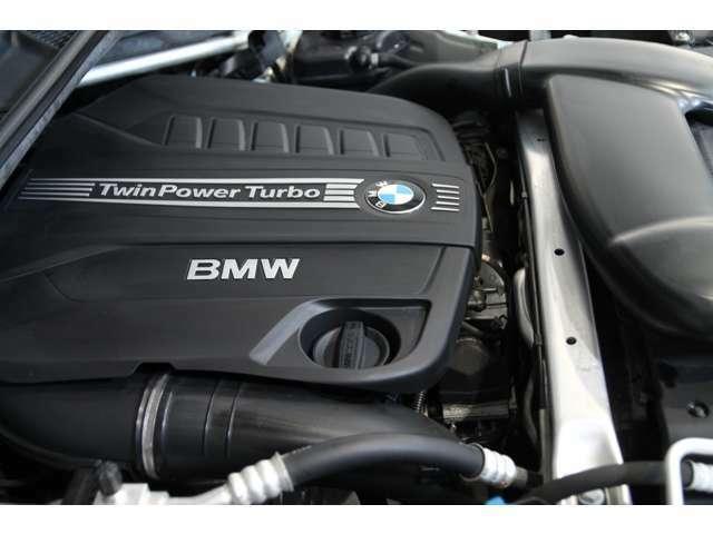 BMWのテクノロジーがつまった3Lディーゼルターボエンジンは楽しいだけでなく経済性にも優れています。