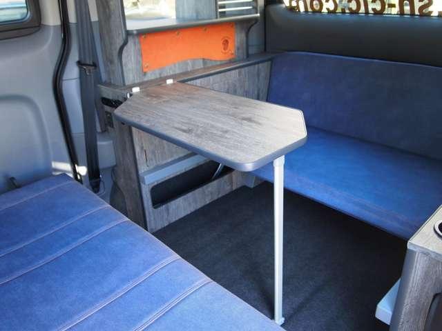 コンパクトな車体でも十分なスペースを確保。