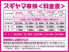 当社車検システム☆新車・中古車販売・板金塗装・自動車保険取扱い(^^)/お気軽にご相談ください☆。