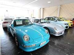 屋内展示場なので、天候や時間を気にせずお車をご覧頂く事が可能です!