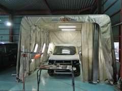 板金・塗装ブース 自社工場完備でアフターサービスもバッチリです!あなたのカーライフベストパートナーになります!!