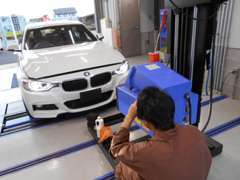 自社整備工場完備で納車点検、車検整備など各部を徹底チェックで整備!万が一の時にも迅速に対応します!