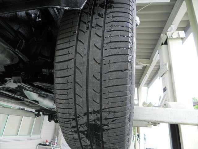 タイヤ溝を撮影した画像となります。