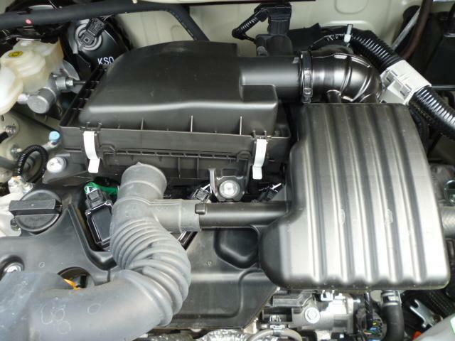 マイルドHV搭載エンジン。