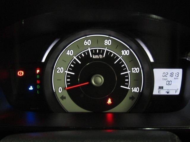 走行距離は少なく、およそ21,000kmです。