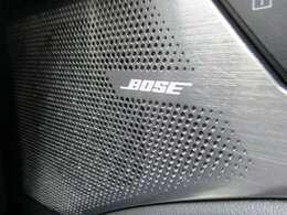 BOSEサウンドスピーカーシステム♪最適なスピーカーレイアウトときめ細やかなチューニングにより包み込まれるような心地よいサウンドが楽しめます♪