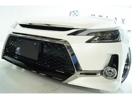 トヨタ マークX 2.5 250G Fパッケージ Gs仕様 新品アルミ新品車高調新品ライト