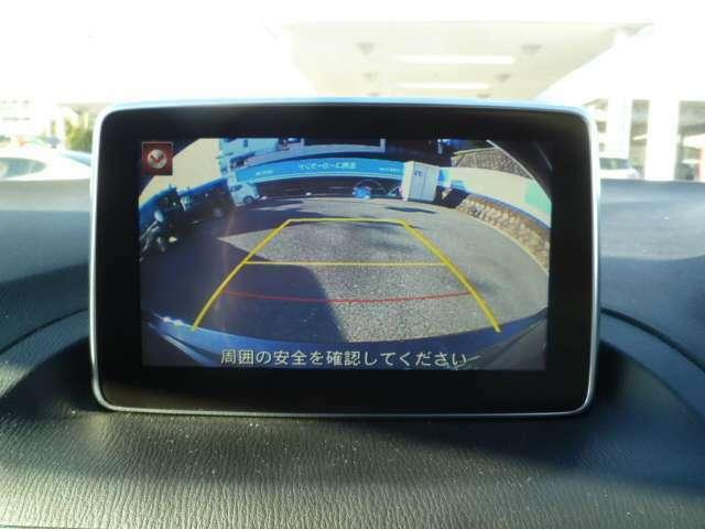 駐車時に便利なバックカメラ付き☆
