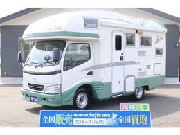 トヨタ カムロード バンテック ジル520 常設二段ベッド 温水ボイラー FFヒーター 液晶テレビ