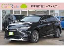 トヨタ ハリアー 2.5 ハイブリッド E-Four Z レザーパッケージ 4WD MODELLISTAエアロ12.3型ナビTVパノラマM付