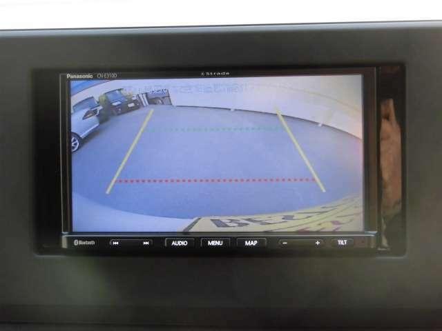 バックカメラで駐車も楽々!!