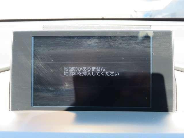 純正SDナビです。フルセグTV/CD/DVD/Bluetoothに対応しています。
