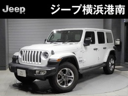 ジープ ラングラー アンリミテッド サハラ 3.6L 4WD 認定中古車当店デモカー