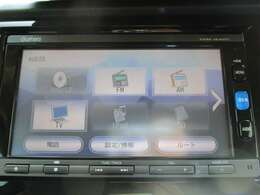 純正メモリーナビ(VXM-164VFi)です。DVD/CD再生のほかにもフルセグTV、Bluetooth連携機能も装備されとっても便利です!