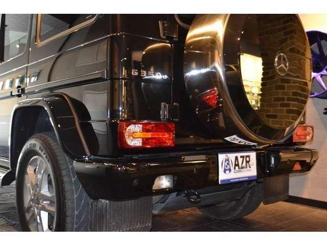 リアにも、コーナーセンサーが完備されていますので、狭い場所や障害物が多い場所でも、安全にお車を操作して頂けます!