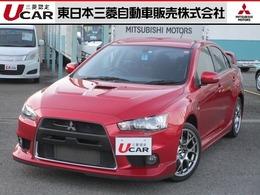 三菱 ランサーエボリューション 2.0 GSR X ハイパフォーマンスパッケージ 4WD BBS鍛造AW マニュアル ワンオーナー