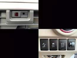スマートアシスト(衝突軽減ブレーキ)&横滑り防止&エコアイドル(アイドリングストップ)等装備充実の安心安全な軽自動車です☆