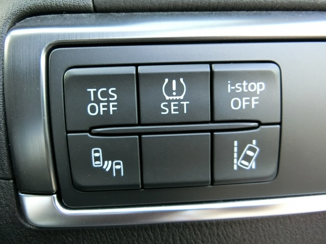 トラクションコントロール・アイドリングSTOP・リアビークルモニタリングシステム・車線逸脱警報