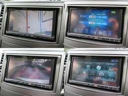 純正HDDナビ装備♪ナビがあればお出かけも楽々です♪テレビも映りますので、観たい番組を見逃すこともなくなりますね♪また、安心のバックカメラ付きです♪