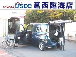 トヨタ タンク 1.0 X S ウェルキャブ 助手席リフトアップシート車 Bタイプ スマアシ2 専用車いす スマートキー