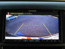 バックカメラ装着車です!狭い駐車場でも後方を確認しながら駐車ができます!