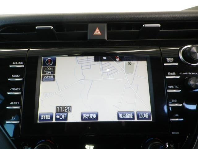 優れたデザイン性と操作性を兼ね備えたメーカー装着Tコネクトナビ&フルセグTV付き!