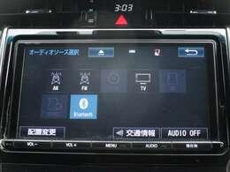 Bluetooth接続で携帯から好きな音楽を流せます♪フルセグTV視聴可能☆彡