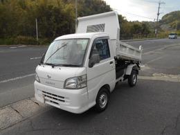 ダイハツ ハイゼットトラック PTOダンプ 切替式4WD ダンプ 荷台塗装済