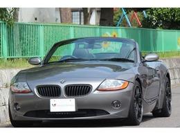 BMW Z4 ロードスター3.0i カスタム有 電動オープン 黒革 BBS18インチ