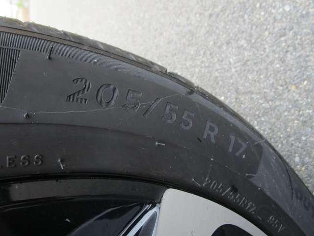 205/55R17!世界的信頼のミシュランタイヤ!走行性と燃費のいいタイヤです!