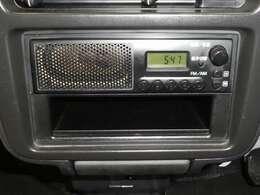 FM/AMラジオ付き。