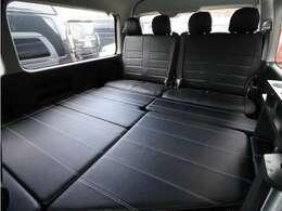 ベッドパネル収納可能!車中泊パッケージとなっております!