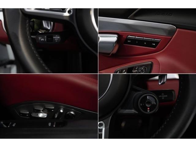この車両の主なオプションは、スポーツクロノパッケージ、2トーンレザーインテリア(ブラック&ボルドー)アダプティブクルーズコントロール、RSスパイダーホイール20インチ(ハイグロスブラック)→