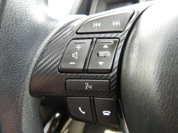 ステアリングコントロール付き♪目線を大きく移動することなく手元でオーディオ操作できる優れものです☆
