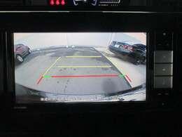 バックカメラ!後方の死角もバッチリ確保で駐車も楽々♪あると安心ですよね