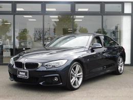BMW 4シリーズグランクーペ 435i Mスポーツ 白革スポーツシート ACC 6気筒