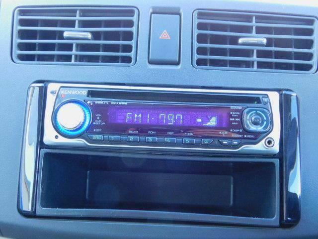 CDステレオ!AUX外部入力端子付なのでデジタルオーディオプレーヤーなどの音を出力できます!
