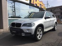 BMW X5 3.0si 4WD 黒革シートヒーター純正ナビ