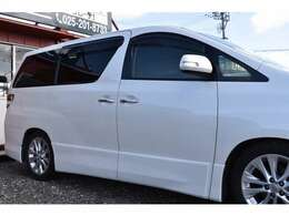 綺麗なパールホワイトのボディです☆新潟市西区に2つの店舗(黒埼店、内野店)がございます。ミニバン・SUVを中心に約50台以上のお車をご用意しております!ミニバン・SUVをお探しならソレーデまで☆