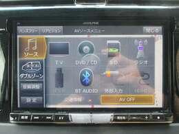 8インチSDナビです!道案内はこちらにお任せ☆フルセグTV・ブルートゥース機能はもちろんCD録音・DVD再生もできちゃいます!ドライブが楽しくなりますね♪