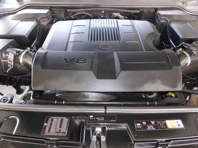5.0-V8エンジン