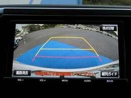 バックカメラ装着車です!狭い駐車場でも後方を確認しながら駐車できます!