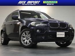 BMW X5 3.0si Mスポーツパッケージ 4WD パノラマSR 黒革 7人乗り 社外Androidナビ