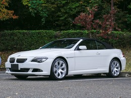 BMW 6シリーズカブリオレ 650i ディーラー記録10枚 地デジバックカメラ付